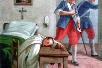 Béatification de moines martyrs de la Révolution à l'abbaye cistercienne de Casamari