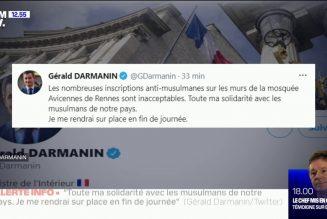 Gérald Darmanin se déplace pour des tags mais pas pour un Français égorgé