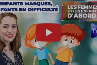 Les Femmes et les enfants d'abord ! : Le développement des enfants portant un masque