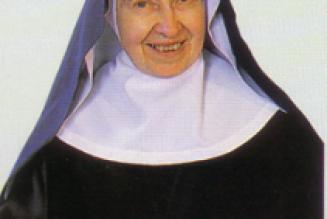 Mère Marie-Françoise Euverte, abbesse émérite de l'abbaye St-Michel de Kergonan, RIP