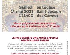 2021 Année Saint-Joseph