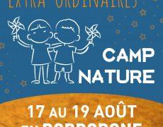17-19 août : Camp Extra-ordinaires