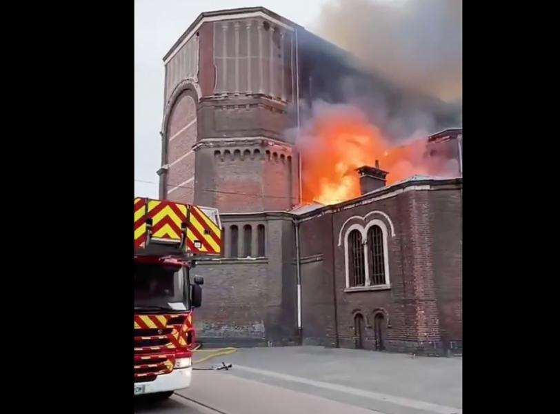 Encore une église en feu, cette fois à Wazemmes (Nord)