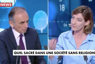 """Eric Zemmour : """"Il n'y a pas de problème sur la place des religions en France, il y a un problème sur la place de l'islam en France"""""""