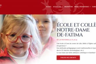 Le site de l'école Notre-Dame-de-Fatima (Lille) fait peau neuve