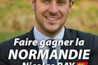 Nicolas Bay (RN) poursuivi en justice pour avoir dénoncé l'islamisation de la Normandie