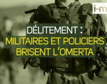 I-Média – Délitement : militaires et policiers brisent l'omerta