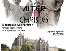 18-22 août : Retraite Alter Christus pour les hommes sur le mystère du sacerdoce