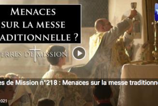Menaces sur la messe traditionnelle ?