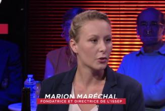 Marion Maréchal : «Le vieux monde politique est dépassé par de nouvelles logiques électorales. A tort ou à raison, pour beaucoup de gens, le RN s'inscrit dans ce vieux monde »