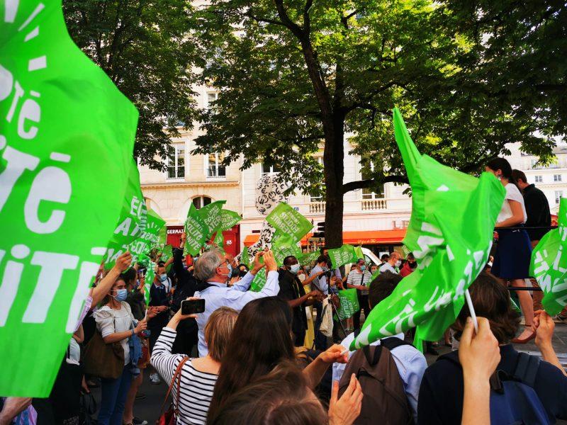 Nouvelle manifestation contre le projet de loi contre l'enfant et l'embryon