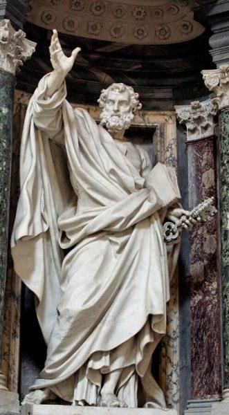 Les belles figures de l'Histoire : saint Pierre