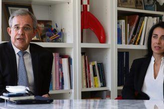 Henri Leroy, sénateur LR des Alpes-Maritimes, vante la droiture de Thierry Mariani (RN) et d'Alexandra Masson (RN)