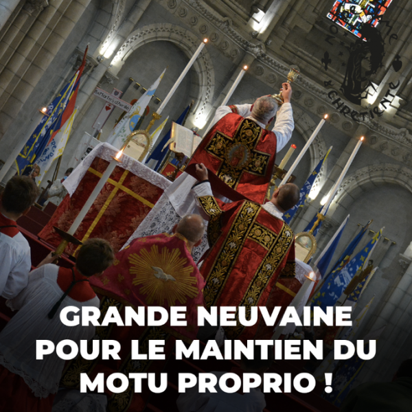 Neuvaine à saint Joseph pour le maintien du Motu proprio Summorum Pontificum
