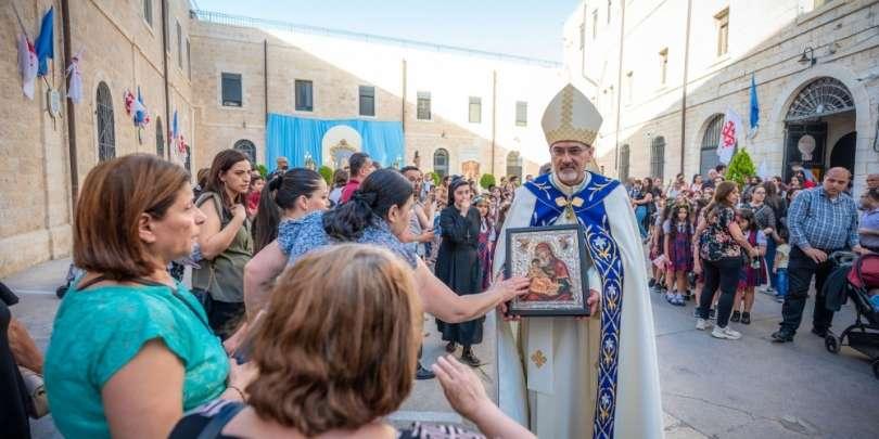 Dimanche 27 juin, le Patriarche Latin de Jérusalem consacrera le Moyen Orient à la Sainte Famille de Nazareth
