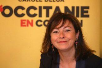 Carole Delga en roue libre