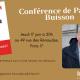 17 juin : conférence de Patrick Buisson autour de son ouvrage La fin d'un monde