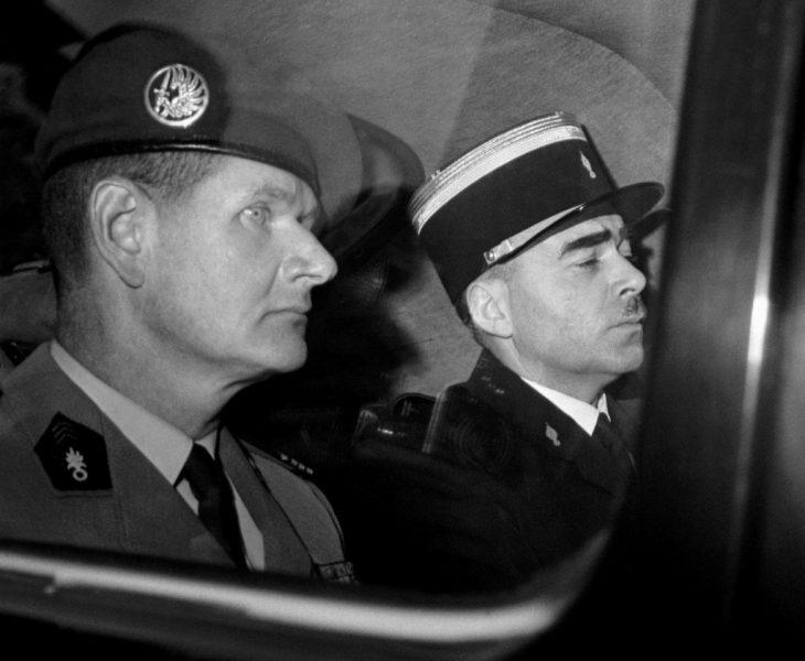 5 juin 1961 : le commandant de Saint Marc est condamné  à 10 années de détention criminelle