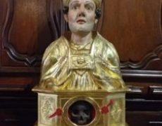 Le chef de saint Sidoine retrouve son reliquaire