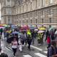 Manifestation en cours contre le passe sanitaire de l'Assemblée Nationale jusqu'au Conseil Constitutionnel