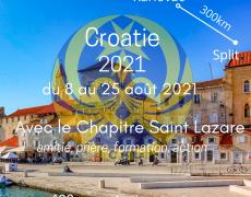 Camp d'été Chapitre Saint Lazare Croatie 2021