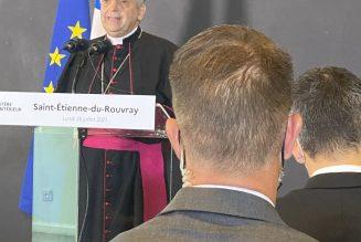 Mgr Lebrun : M. le Ministre, ce n'est plus la loi qui nous oblige à respecter la vie de son commencement à son terme naturel