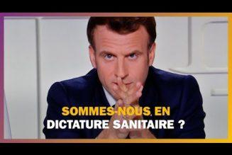 Délire liberticide : Emmanuel Macron  s'adresse à ceux qui l'ont élu, à ceux qui n'ont pas mesuré la détresse et le désarroi dans lequel se trouve le pays