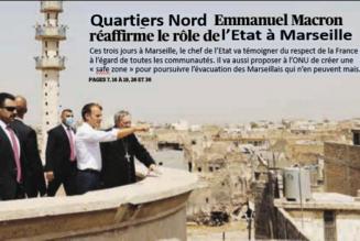 M.Macron à Marseille : plus fort que Superman