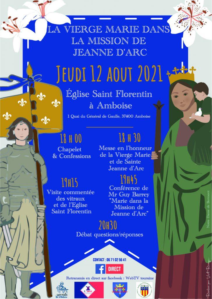 La vierge marie dans la mission de Jeanne d'Arc