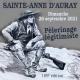 26 septembre : Pèlerinage légitimiste de Sainte-Anne d'Auray