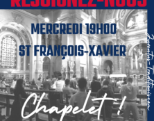 Paris : chapelet en église Saint-François-Xavier pour demander le retour de la messe des étudiants