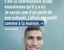 """Achraf Hakimi : """"Comme à la maison"""""""