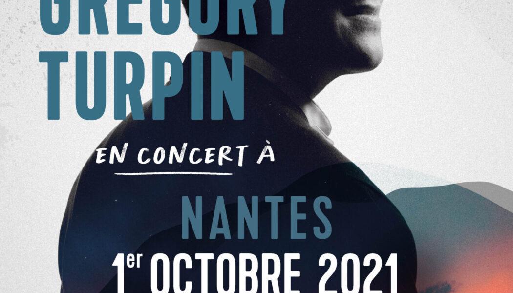 Concert de Grégory Turpin à Nantes le 1er octobre 2021