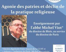 14 octobre : Agonie des patries et déclin des pratiques religieuses par l'abbé Michel Viot