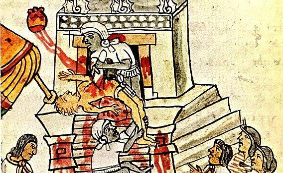 Le sacrifice humain était essentiel dans la religion aztèque