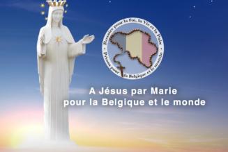 Un Rosaire sera récité le 10 octobre un peu partout en Belgique pour le renouvellement de la Foi, la protection de la Vie et la Paix