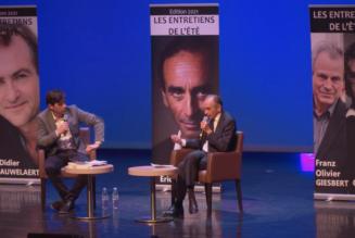 Éric Zemmour en conférence à Toulon