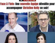 Charlotte d'Ornellas, Mathieu Bock-Côté, Eugénie Bastié et Dimitri Pavlenko dans Face à l'info