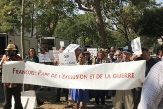 Nouvelle manifestation devant une nonciature fermée au dialogue