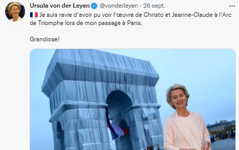 Ne dites pas de Mme Von der Leyen qu'elle est tapissière : elle se croit présidente de la Commission européenne