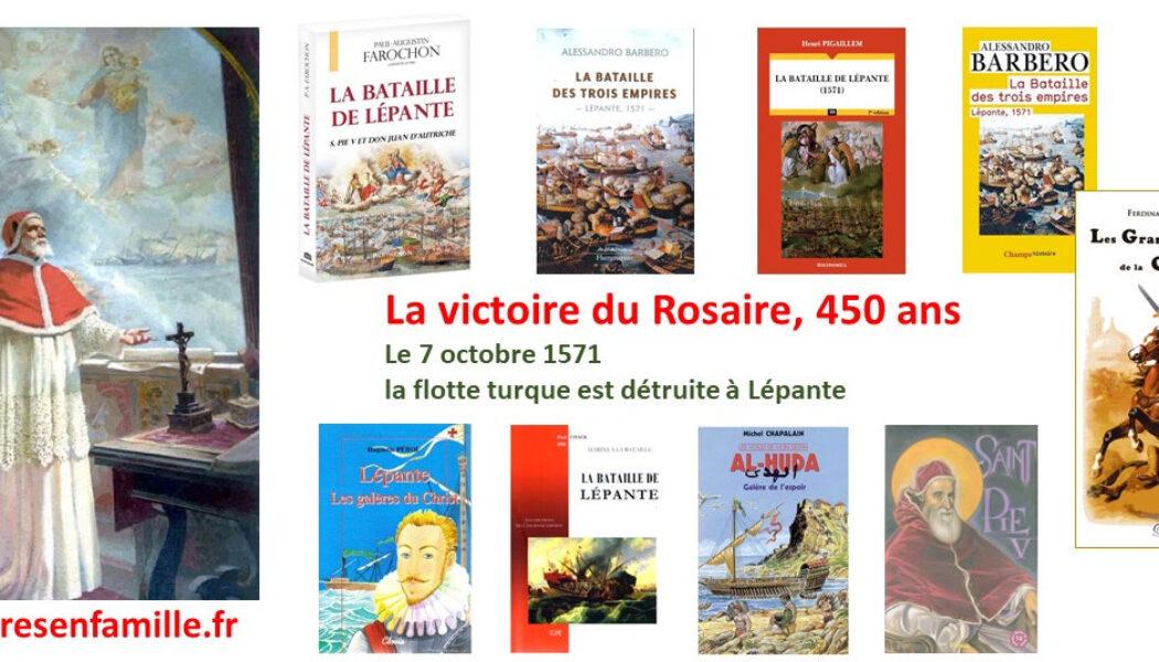 Victoire de Lépante, 450 ans – Un anniversaire sur Livres en Famille : des livres pour adultes et enfants